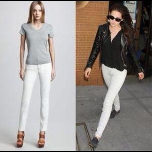 J Brand Polar Stone Light Grey Skinny Legging Jean